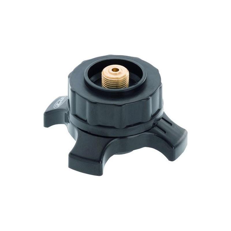 Adaptateur de r chaud vis sur cartouche valve for Adaptateur gaz de ville