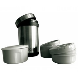 BOITE ALIMENTAIRE ISOTHERME INOX 1.5 L
