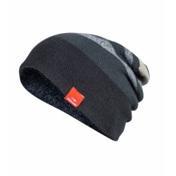 BONNET REVERSIBLE RIDGE BEANIE RAVEN