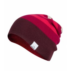BONNET REVERSIBLE RIDGE BEANIE WINE LOVER