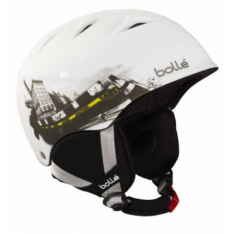 CASQUE SKI B-FREE SOFT WHITE URBAN 53-57