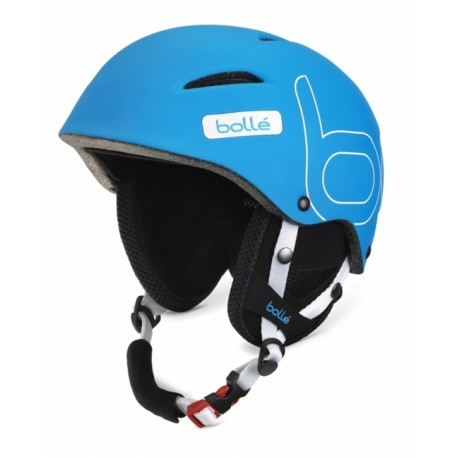 CASQUE SKI B-STYLE SOFT BLUE 58-61