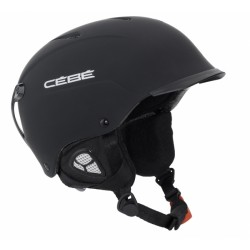 CASQUE SKI CONTEST VISOR MATT BLACK 58-62