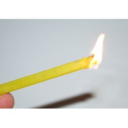 COMBUSTIBLE SOLIDE FLAME STICK