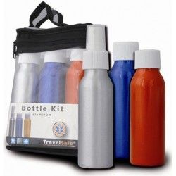 FLACONS ALU BOTTLE KIT POUR L\'AVION