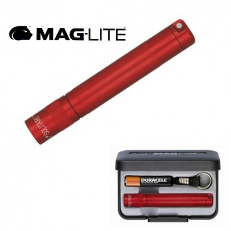 LAMPE TORCHE PORTE-CLES MAGLITE SOLITAIRE ROUGE