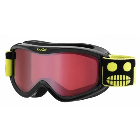MASQUE SKI ENFANT AMP BLACK ROBOT VERMILLON