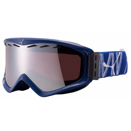 MASQUE SKI INFINITY OTG BLUE BAMBOO DARK ROSE FLASH MIRROR