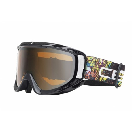 MASQUE SKI LEGEND L BLACK ARTY ORANGE FLASH MIRROR