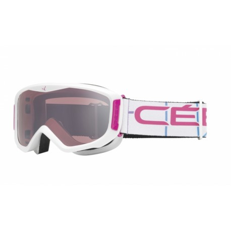 MASQUE SKI LEGEND M WHITE LIGHT ROSE FLASH MIRROR