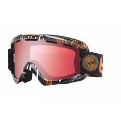 MASQUE SKI NOVA ORANGE ZEBRA VERMILLON GUN