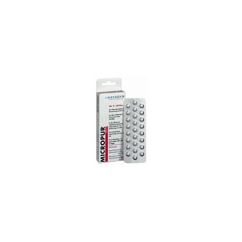 pastilles d sinfectant eau micropur forte 100 comprim s. Black Bedroom Furniture Sets. Home Design Ideas