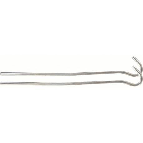 PIQUETS DE TENTE ACIER 18 CM (PAR 10) WIRE STEEL PEG