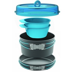 POPOTE CAMPING CREST 2 PERSON COOKSET