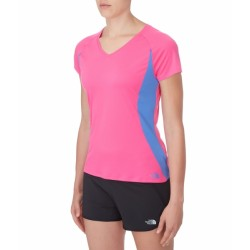 T-SHIRT TECHNIQUE FEMME REFLEX V-NECK