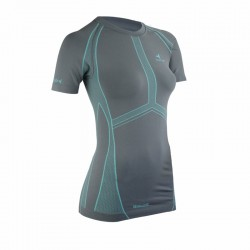 T-SHIRT TECHNIQUE FEMME ACTIVE SEAMLESS MC
