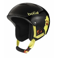 CASQUE SKI ENFANT B-KID SHINY BLACK ROBOT 53-57
