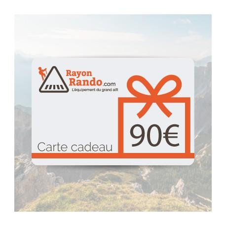 CARTE CADEAU 90 EUROS
