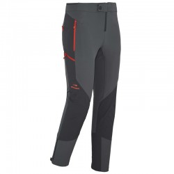PANTALON RANDONNEE SOFTSHELL POWER MIX PANT NOIR ROUGE (TAILLE L)