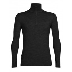 T-SHIRT LAINE MERINO TECH LONG SLEEVE 1/2 ZIP