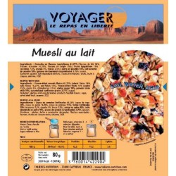 MUESLI POCKET AUX FRUITS LYOPHILISE 80 G