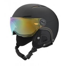 casque ski juliet visor black & gold