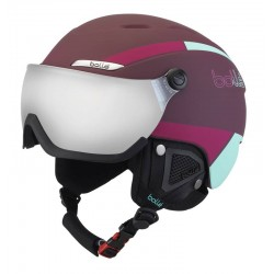 CASQUE SKI B-YOND VISOR CHERRY & MINT 54-58