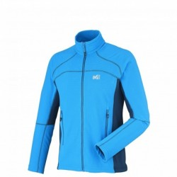 Veste Polaire Vector Jacket grid Bleu
