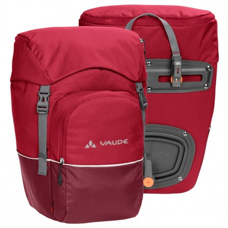Sacoche vélo avant Vaude Road master front red