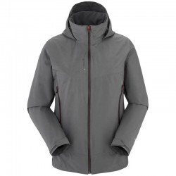 VESTE DE RANDONNEE WAY GTX ZIP-IN GRIS