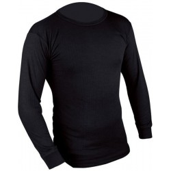 T-shirt Tecnique Chaud Long Sleeve top Black