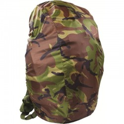 HOUSSE DE PLUIE MEDIUM WATERPROOF RUCKSACK COVER CAMOUFLAGE