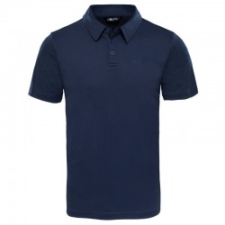T-SHIRT TECHNIQUE HOMME TANKEN POLO BLEU MARINE