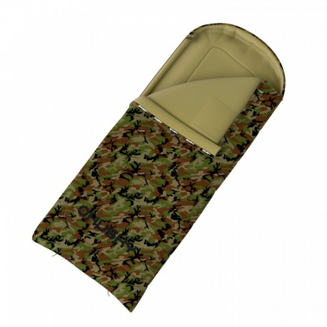 SAC DE COUCHAGE CAMOUFLAGE GIZMO ARMY