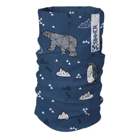 Manchon enfant sinner blue winter wonderland