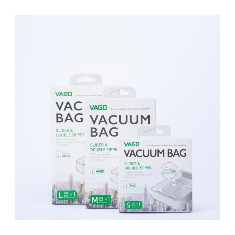 sac de compression vacuum de taille m compatible avec. Black Bedroom Furniture Sets. Home Design Ideas