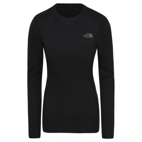 T-SHIRT TECHNIQUE CHAUD FEMME WOMAN'S EASY L/S CREW NECK