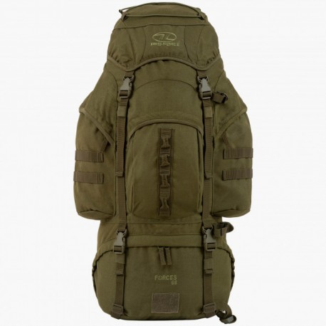 SAC A DOS FORCES 66L OLIVE