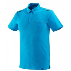 POLO IMJA WOOL BLEU TAILLE M