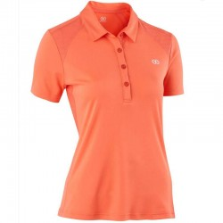 POLO TECHNIQUE EASY FEMME CORAIL
