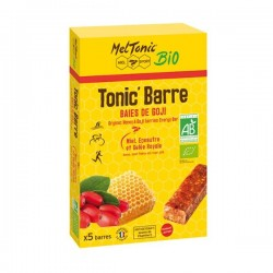 PACK 5 BARRES ENERGETIQUES TONIC BARRE Baies de Goji