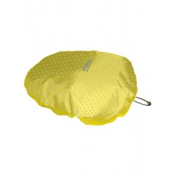 COUVRE-SELLE SADDLE COVER JAUNE A POIS