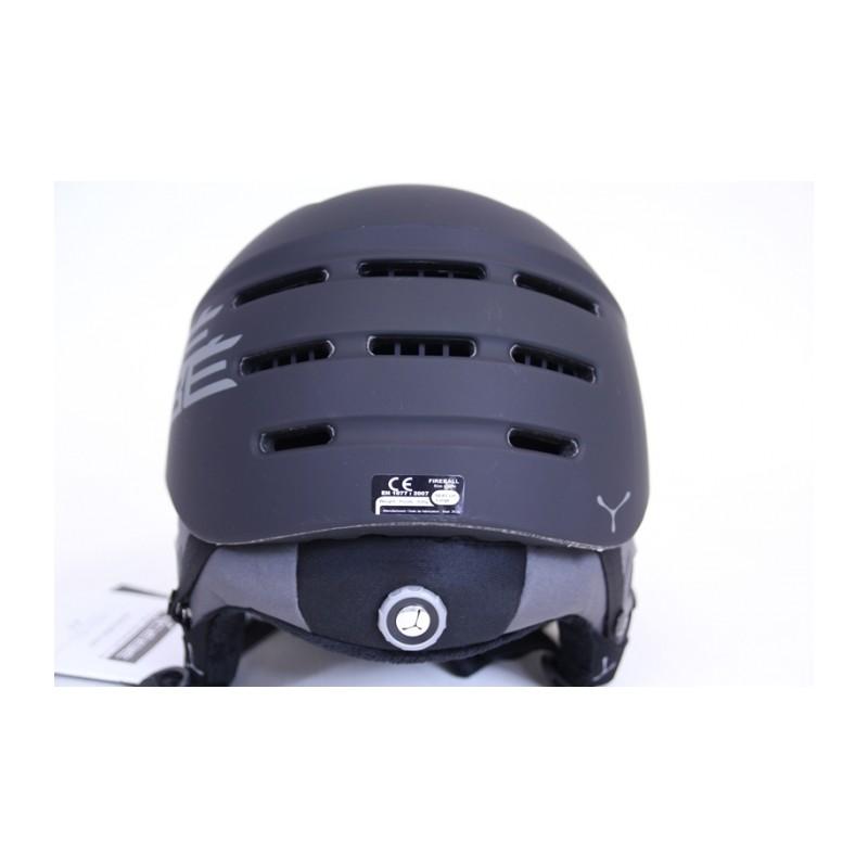 casque ski c b fireball black achat de casque de ski et. Black Bedroom Furniture Sets. Home Design Ideas