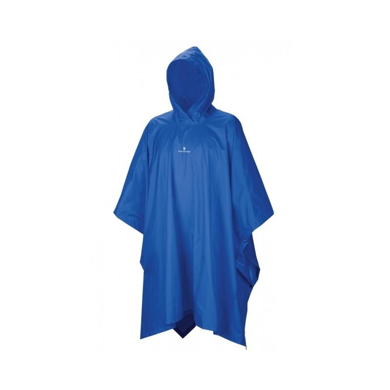 /Poncho de Pluie Unisexe pour Adulte Taille Unique Bleu Ferrino Dryride/