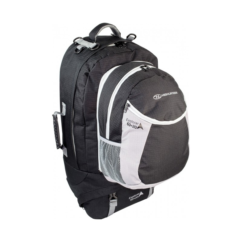 sac dos de voyage explorer 60 20 l highlander achat de sacs de voyage. Black Bedroom Furniture Sets. Home Design Ideas