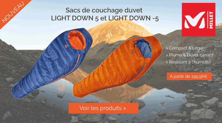 Sacs de couchage Millet Light Down