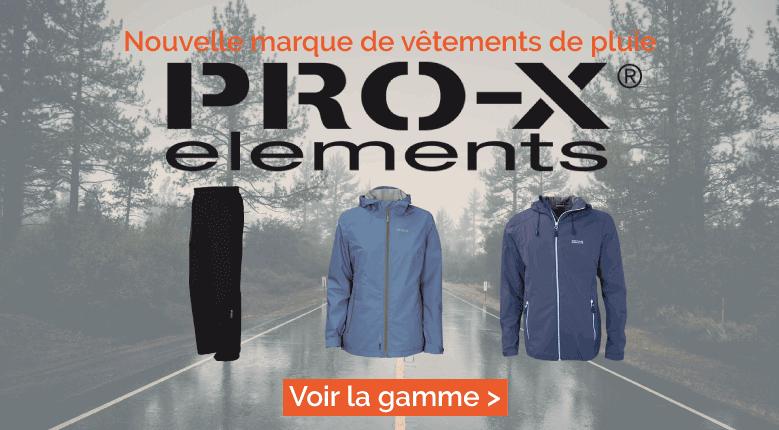 Nouvelle marque de vêtements de pluie : Pro-X Elements